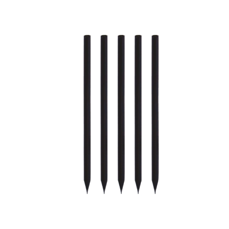 Yuvarlak Siyah Latalı Kurşun Kalem